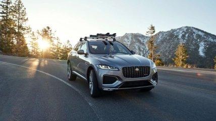 Jaguar представил обновленный Jaguar F-Pace 2021 модельного года (Фото)