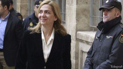 Сестра короля Испании подала апелляцию на решение судить ее
