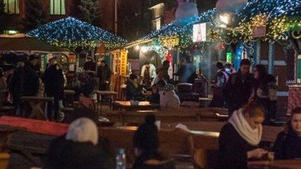 Новый год в центре Киева встретили более 70 тысяч граждан Украины