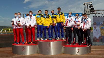 Украинская байдарка-четверка выиграла соревнования в Португалии