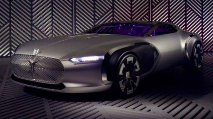 Новый концепт Renault Coupe Corbusier в стиле авангард