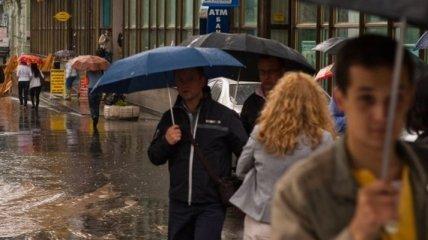 Сегодня Украину накроет дождями