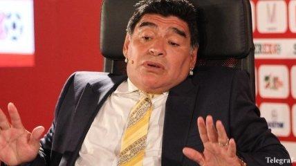Марадона президенту ФИФА: Ты либо дурак, либо вор
