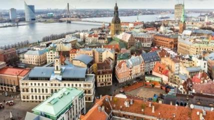 Рига - крупнейший город Прибалтики и центр туризма.
