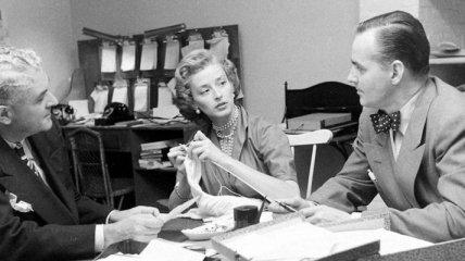 Будни американского модельного агентства 1948 (Фото)