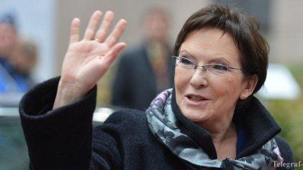 В Украину прибыла премьер-министр Польши