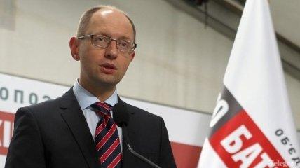 Яценюк обратился к президенту Европарламента с просьбой