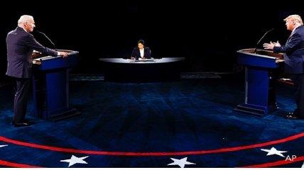 На дебатах Байдена и Трампа вспомнили об Украине