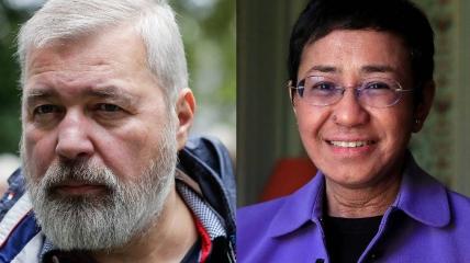 Нобелевских лауреатов мира в 2021 году двое