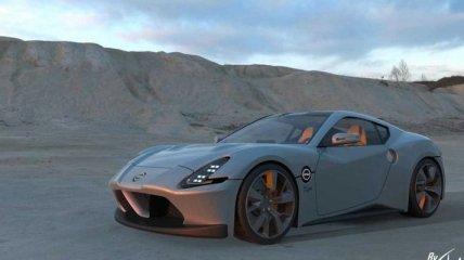 Представлен новый спорткар Nissan 400Z