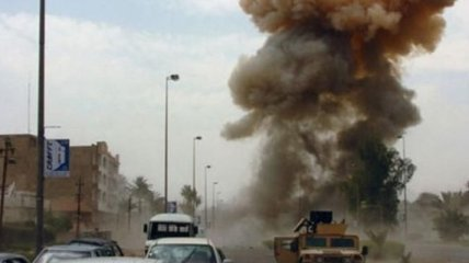 В Афганистане возле военной базы США прогремел мощный взрыв