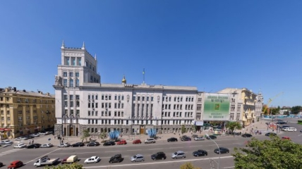 Здание харьковского горсовета.