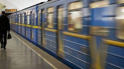 В киевском метрополитене женщина попала под поезд
