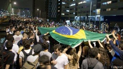 Протестные манифестации в Рио-де-Жанейро переросли в беспорядки