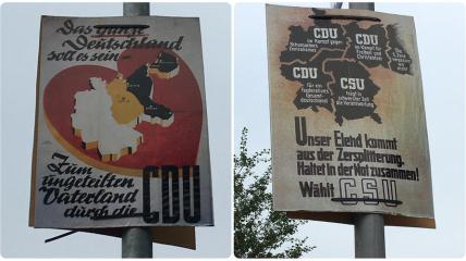Плакаты с Калининградской областью в составе Германии