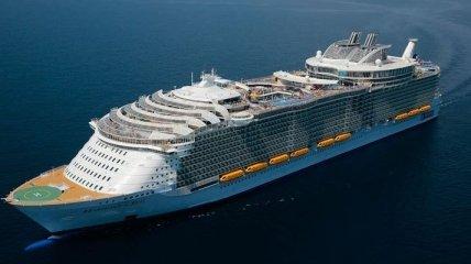 На борту самого большого пассажирского судна в мире (Фото)