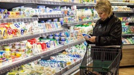 Украинцев уверяют, что продукты с полок супермаркетов не исчезнут
