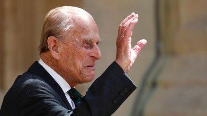 99-летний муж Елизаветы II вернулся домой после длительного лечения (фото)