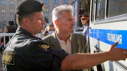 """Полиция начала задержания участников акции """"Стратегия-31"""" в Москве"""