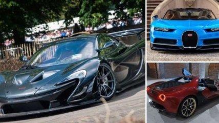 Машина на миллион: самые дорогие автомобильные новинки 2017 года (Фото)