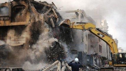 Взрыв на складе пиротехники в торговом районе Лагоса
