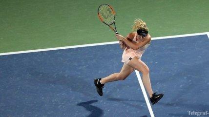 Как Свитолина победила Касаткину в финале турнира в Дубае (Видео)