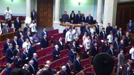 Рада призвала Савченко прекратить голодовку