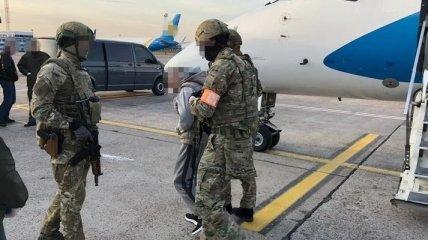Подозреваемый в организации убийства Гандзюк прибыл в Киев (Фото)