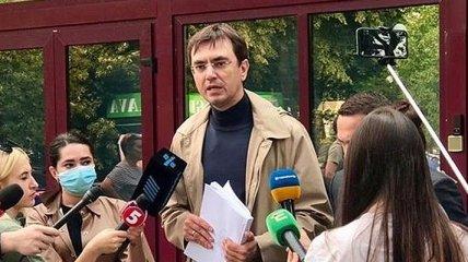Бывшего министра Омеляна допросили в НАБУ