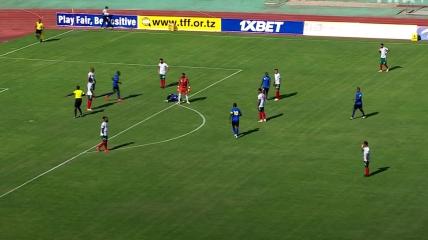 Сборная Танзании заработала пенальти на 5-й секунде матча