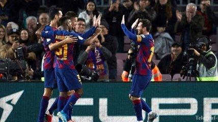 Реал и Барселона узнали соперников по 1/4 финала Кубка Испании