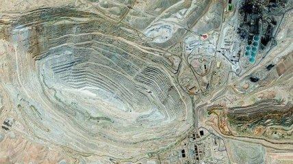 Невероятные фотографии снятые со спутника за 2012 (Фотогалерея)