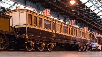 Как выглядит личный поезд королевы Виктории (Фото)