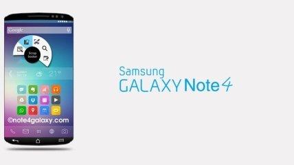 Samsung Galaxy Note 4 выпустят в двух версиях
