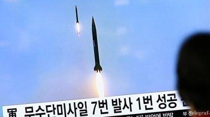 СМИ: КНДР произвела новый запуск ракет