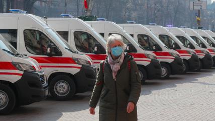 Коронавирус в Украине распространяется активнее, чем в странах ЕС, где вакцинировано более 60% населения