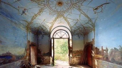 Назад в прошлое: заброшенные виллы в Италии (Фото)