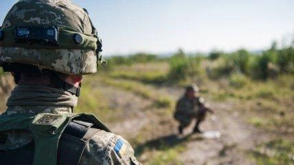 На Донбассе от пули снайпера российских оккупантов погиб военный ВСУ