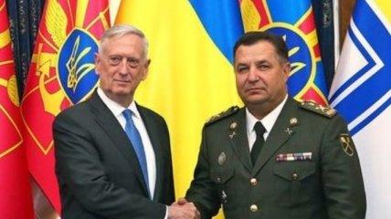 Полторак обсудил сроки передачи противотанковых комплексов с главой Пентагона