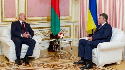 Янукович и Лукашенко отмечают потенциал в развитии отношений