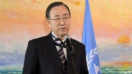 Генсек ООН готов созвать международную конференцию по Сирии