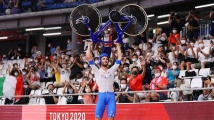 Италия с мировым рекордом выиграла мужскую командную гонку в велотреке