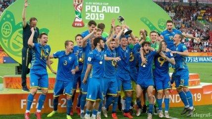 Зеленский: U-20 сборная Украины по футболу - вы невероятные!