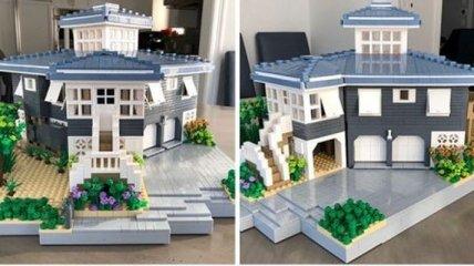 Нью-Йоркський дизайнер відтворює будинку з LEGO (Фото)