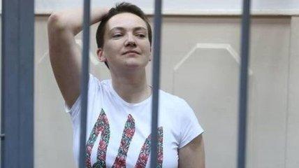 В интернете набирает популярность акция в поддержку Надежды Савченко