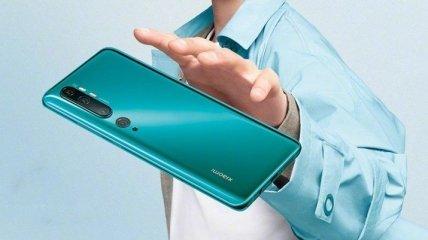 Xiaomi начала рекламировать Mi Note 10 в Украине (Фото)
