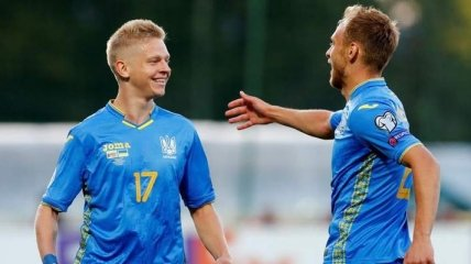 Украина в ярком матче громит сборную Литвы в отборе на Евро-2020 (Фото, Видео)