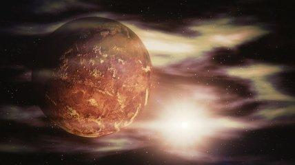 """Атмосферные приливные волны объясняют """"супер-вращение"""" Венеры"""