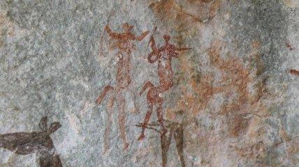 Раскрыта давняя тайна создания миниатюрных наскальных рисунков жителей Австралии (Фото)
