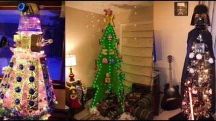 Самые оригинальные и креативные новогодние елки со всего мира (Фото)